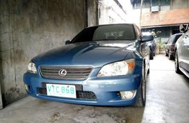 For sale is my Lexus Is200 Year model 99