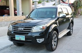 2012 Ford Everest Manual GOOD AS NEW