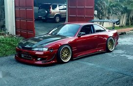 NISSAN S14 Silvia Loaded with rare and orig parts