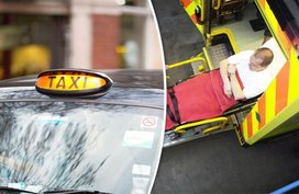 Which is better in case of emergency: Hail a cab or Call an ambulance?