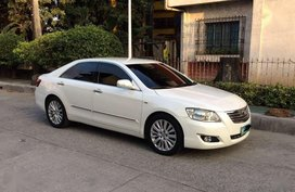 2007 Toyota Camry 2.4V Pearl White All Power Leather