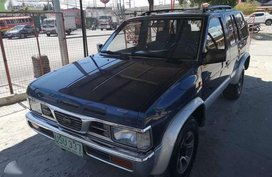 96 4x4 Nissan Terrano gas manual FOR SALE