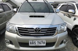 2014 Toyota Hilux 2.5G MT Diesel FOR SALE