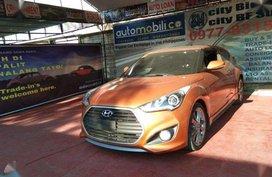 2017 Hyundai Veloster Orange AT Gas - Automobilico Sm City Bicutan