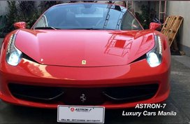 2012 Ferrari 458 Spider Convertible with Fully Carbon Interiors Loaded