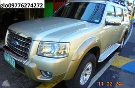 Ford Everest limited edition AT FRESH 2009