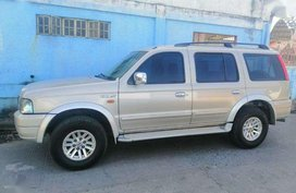 Ford Everest 2005 4x2 FOR SALE