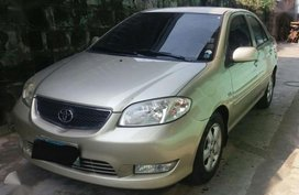 2005 Toyota Vios At Top of the line for sale