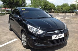 Hyundai Accent GL 2017 model  Automatic transmission 1.4L gas engine Lucena City