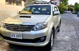 Toyota Fortuner G Diesel 2014 for sale