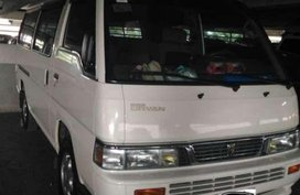 Nissan Urvan 2015 2.7L Manual White Very good condition