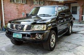 NISSAN Patrol 2009 BLACK A-T 4x4 for sale