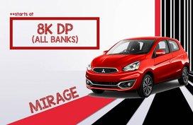2019 MITSUBISHI Mirage Hatchback Low DP Starts at Php 8k!