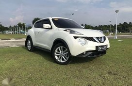 Nissan Juke Pearl White 2016 for sale