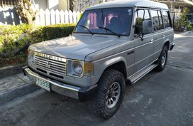 1990 MITSUBISHI Pajero Box type turbo diesel