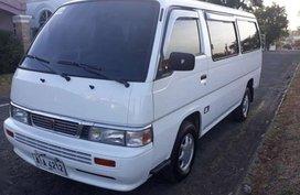 2015 Nissan Urvan Shuttle Vx