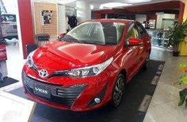 2019 Toyota Vios 1.3 E CVT 25k downpayment 2019 brand new