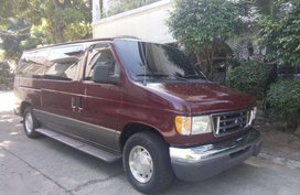 2003 Ford E150 fresh unit well kept good condition ready long drive