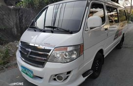 Foton View Limited 2012 Model Manual Transmission