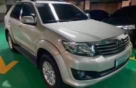2012 TOYOTA FORTUNER Gas 4X2 AT FOR SALE