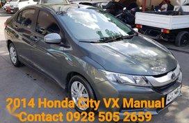 For sale 2014 Honda City Vx body 1.5E manual