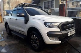 2016 Ford Ranger Wildtrack 4x4 Automatic