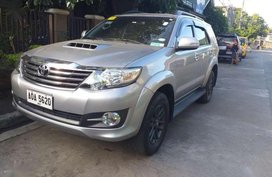 Toyota Fortuner g manual 2015 for sale