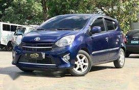 Exciting Electric Blue Toyota WIGO 1.0 G Automatic Gas