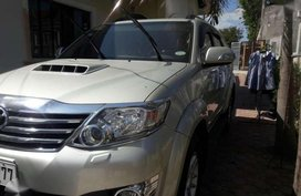 Toyota Fortuner G manual rush for sale