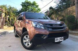 2015 Isuzu MU-X LS 2.5 MT for sale