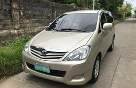 2010 Toyota Innova E Automatic Diesel for sale