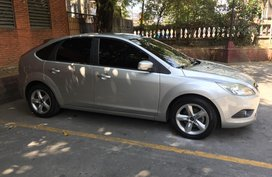 Sell Silver 2011 Ford Focus Hatchback at 55000 km in Pasig