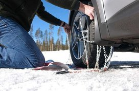 Properly install tire chains for your car with 9 easy steps