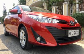 Red 2019 Toyota Vios at 5000 km for sale