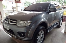 Montero Sport Grey Manual Transmission 2014 Model