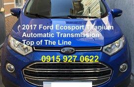 2017 Ford Ecosport Titanium for sale