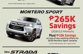 Brand New 2019 Mitsubishi Montero Sport for sale in Manila