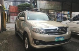 2013 TOYOTA FORTUNER 2.5G for sale