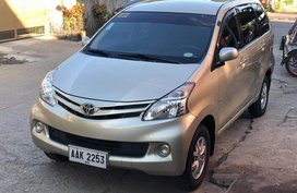 Toyota Avanza 1.3E Manual 2015 for sale