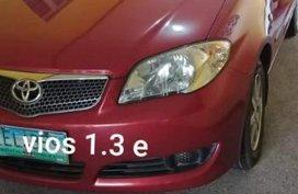 Toyota Vios 1.3e 2006 for sale
