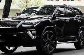 2018 Toyota Fortuner 4x4 for sale