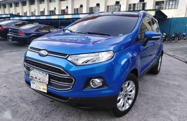2016 Ford Ecosport Titanium Blue Gas AT - Automobilico SM City BF