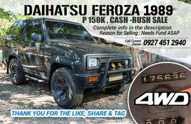 Daihatsu Feroza 4WD 1989 for sale