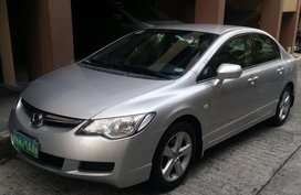 Selling Used Honda Civic 2006 Automatic at 92000 km
