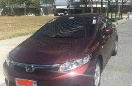 2012 Honda Civic AT for sale