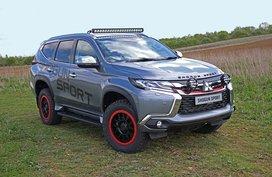 Mitsubishi Shogun Sport SVP: A Montero Sport with bad attitude
