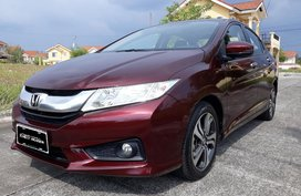 Red 2015 Honda City for sale in Lipa