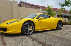 2nd Hand (Used) Ferrari 458 Italia 2013 for sale in Cebu City