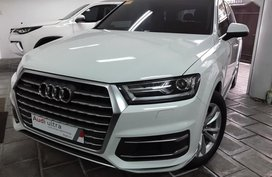 2nd Hand (Used) Audi Q7 2018 Automatic Gasoline for sale in Quezon City