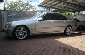 2nd Hand (Used) Mercedes-Benz C200 2001 Automatic Gasoline for sale in Quezon City